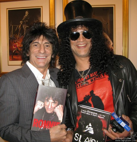 Ronnie Wood & Slash, NYC - 2007