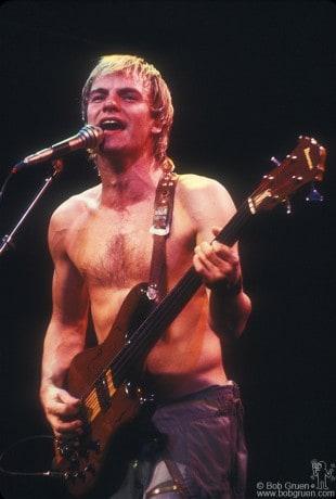 Sting, Hamburg - 1980