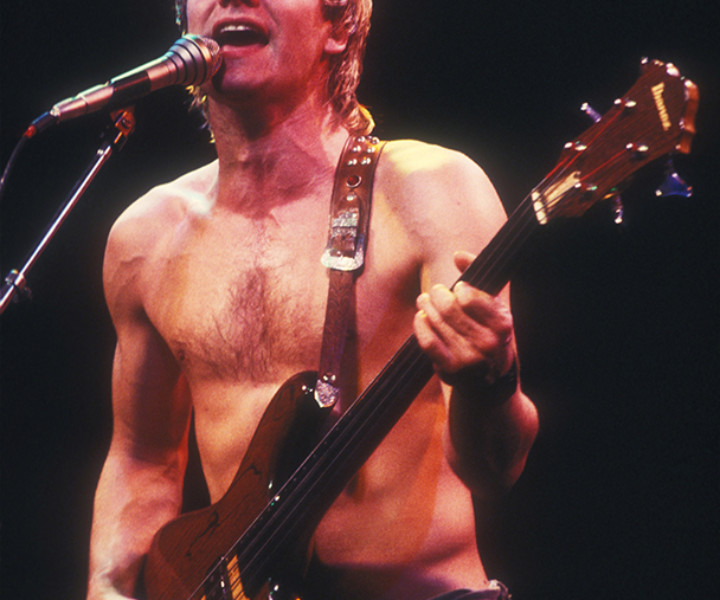 Sting, The Markthalle, Hamburg, Germany. January 1980. <P>Image #: C-40 © Bob Gruen