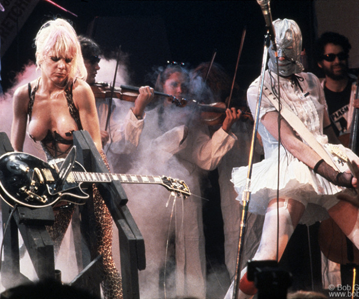 Plasmatics, Ritz, NYC. June 14, 1980. <P>Image #: C-58  © Bob Gruen