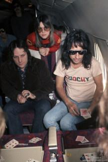 Dick Wagner, Suzi Quatro and Alice Cooper, USA - 1975