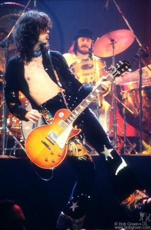 Jimmy Page & John Bonham, NYC - 1975