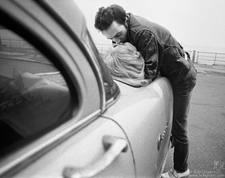 Joe Strummer & Gaby, NYC - 1981