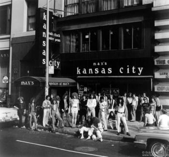 Max's Kansas City, NYC - 1976