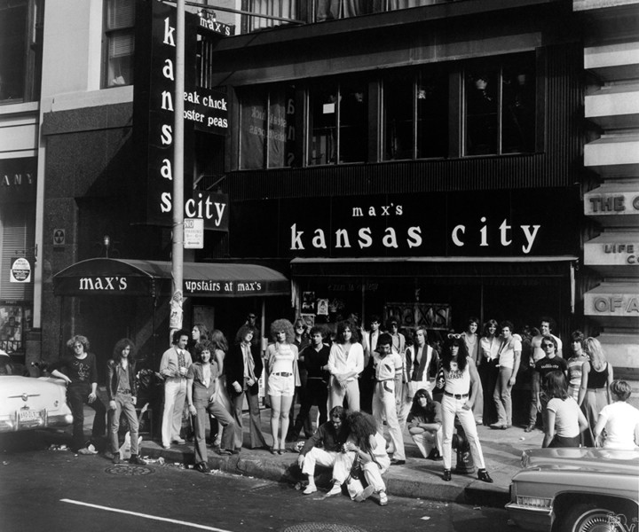 Max's Kansas City, NYC. September, 5 1976. <P>Image #: R-131  © Bob Gruen