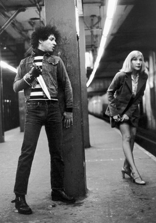 Syl Sylvain and Emily, NYC - 1977