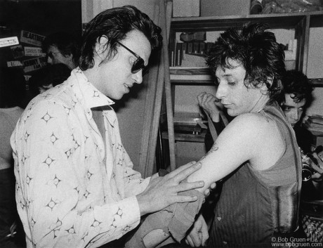 Richard Hell & Johnny Thunders, NYC - 1978