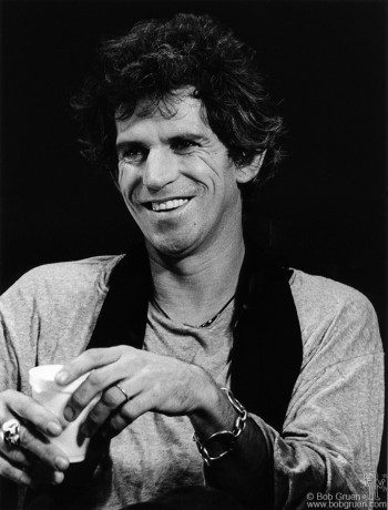 Keith Richards, NYC - 1984