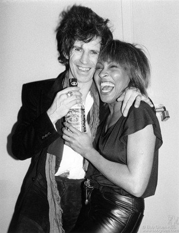 Keith Richards & Tina Turner, NYC - 1983