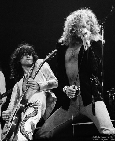 Jimmy Page & Robert Plant, NYC - 1977