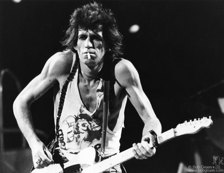 Keith Richards, NYC - 1981