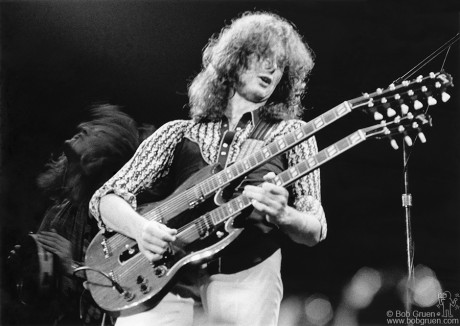 Jimmy Page, NYC - 1975