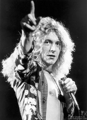 Robert Plant, NYC - 1975
