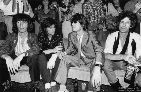 Rolling Stones, NYC - 1980