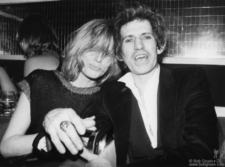 Patti Hansen and Keith Richards, NYC - 1983