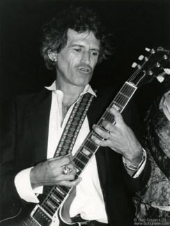 Keith Richards, NYC - 1985