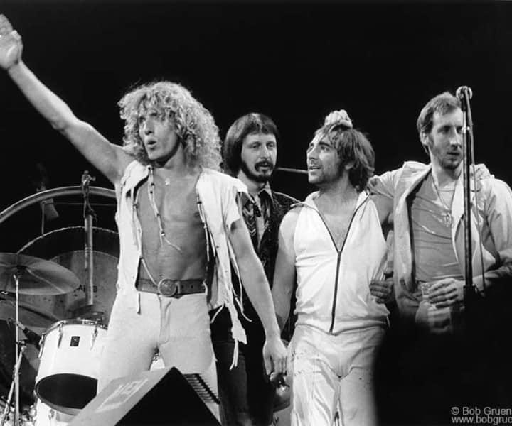Who, MSG, NYC. March 11, 1976. <P>Image #: R-252 © Bob Gruen