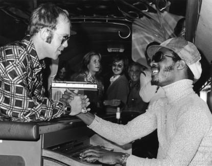 Stevie Wonder, Suzie Carnel & Stevie Wonder, Boston - 1973