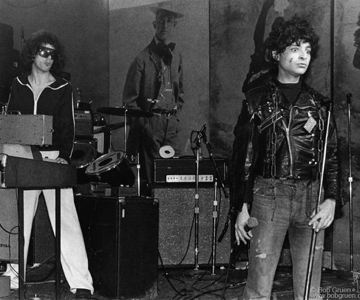 Suicide, CBGB, NYC. May 4, 1977. <P>Image #: R-263  © Bob Gruen