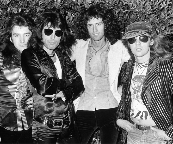 Queen, Memphis, TN. April 20, 1974. <P>Image #: R-267  © Bob Gruen