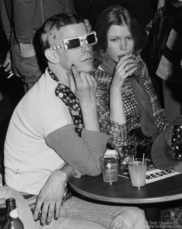 Lou Reed & Barbara Hodes, NYC - 1974