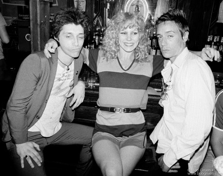 Johnny Thunders, Sable Starr & Iggy Pop, NYC - 1977