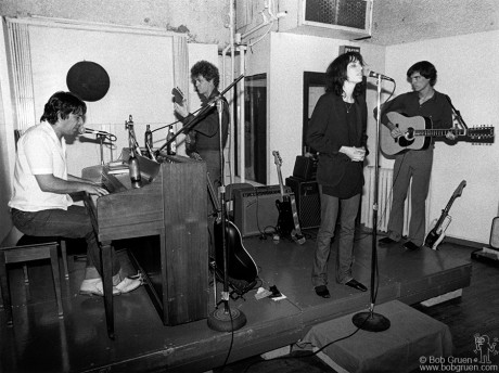 John Cale, Lou Reed, Patti Smith & David Byrne, NYC - 1976
