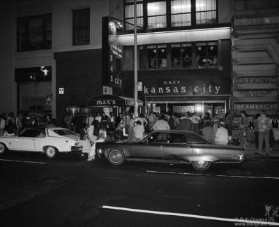 Max's Kansas City, NYC - 1977
