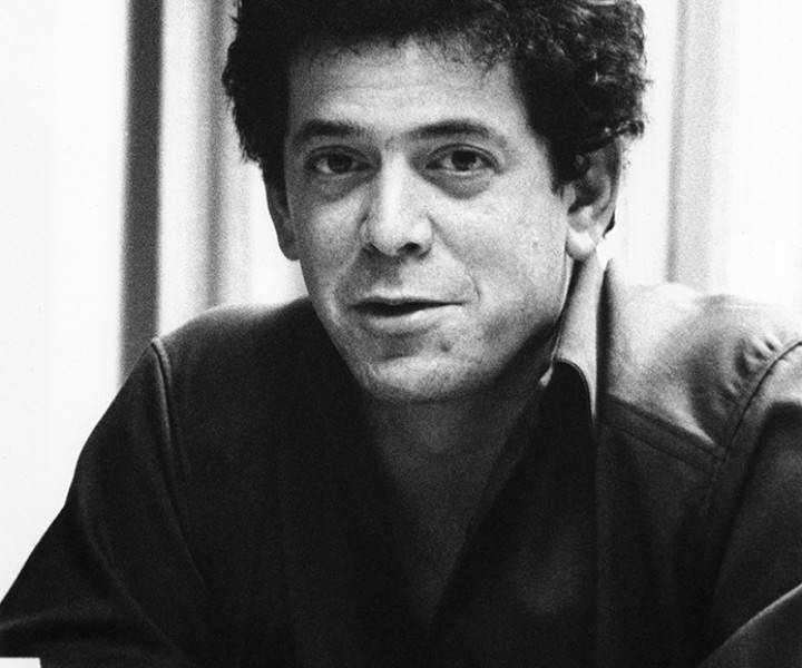 Lou Reed, RCA Building, NYC. December 1981. <P>Image #: R-321  © Bob Gruen