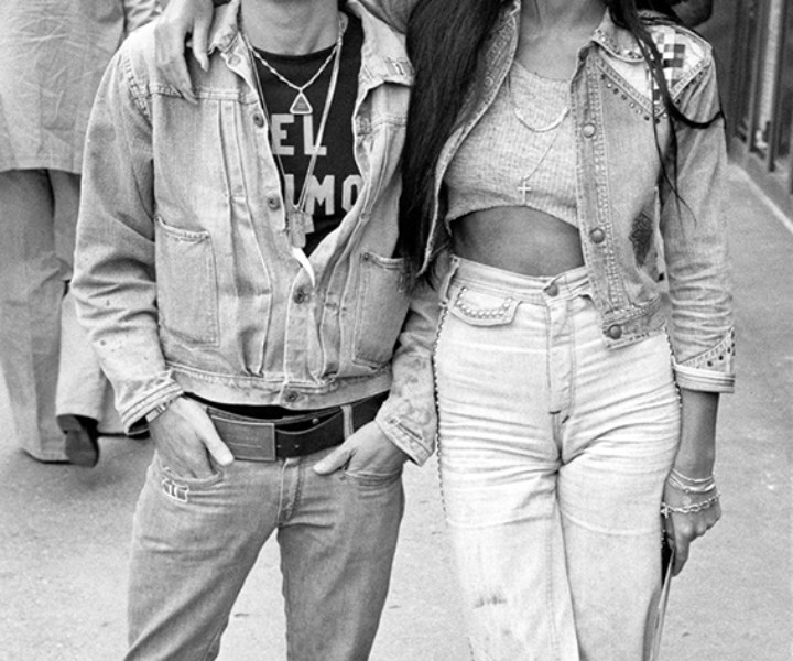 Sonny Bono and Cher, Lexington Avenue, NYC. May 5, 1973. <P>Image #: R-337 © Bob Gruen