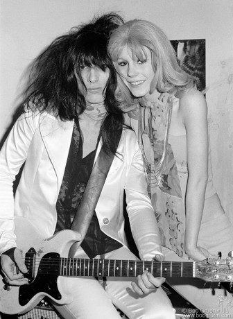 Johnny Thunders & Sable Starr, NYC - 1974