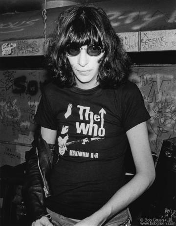 Joey Ramone, NYC - 1979