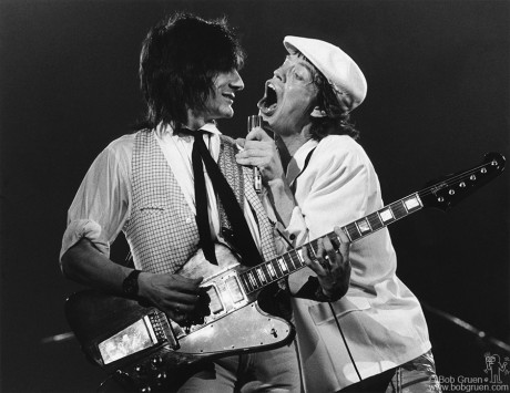 Ronnie Wood & Mick Jagger, NYC - 1978