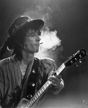 Johnny Thunders, NYC - 1985