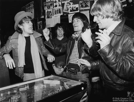 David Johansen, Jon Tiven, Dee Dee Ramone & Andy Paley, NYC - 1977