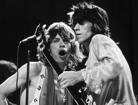 Mick Jagger & Keith Richards, NYC - 1972