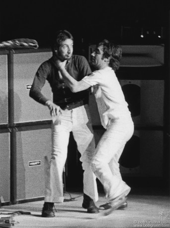 Pete Townshend & Keith Moon, NYC - 1974
