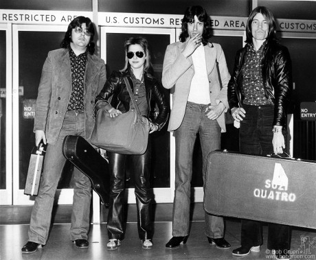 Suzi Quatro Band, NYC - 1974