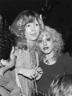 Sable Starr & Nancy Spungen, NYC - 1977