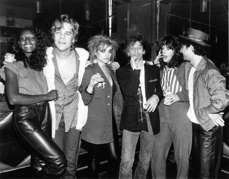 David Johansen, Nina Hagen, Johnny Thunders, Kate Simon & Syl Sylvain, NY - 1980