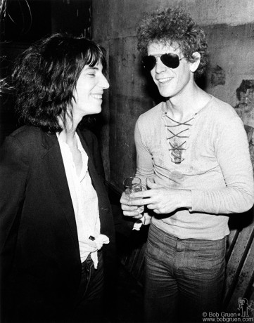 Patti Smith & Lou Reed, NYC - 1976