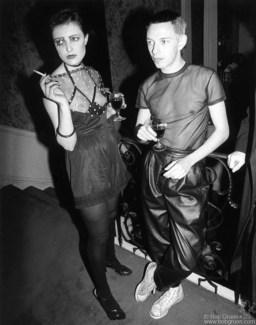 Siouxsie Sioux & Steven Severin, London - 1976