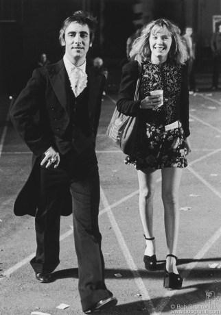 Keith Moon & Pamela Des Barres, CA - 1972