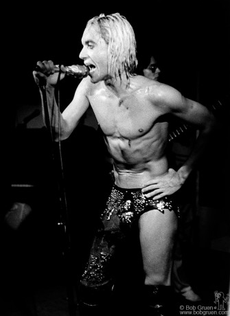Iggy Pop, NYC - 1973