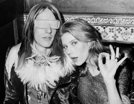Todd Rundgren & Bebe Buell, NYC - 1973