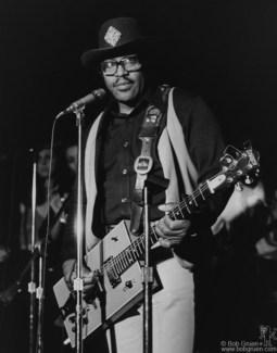 Bo Diddley, NYC - 1977
