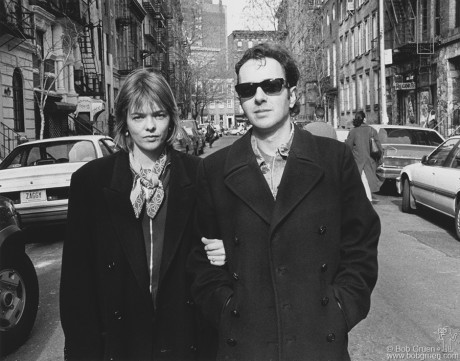 Joe & Lucinda Strummer, NYC - 1994