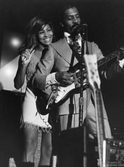 Ike and Tina Turner, NYC - 1970