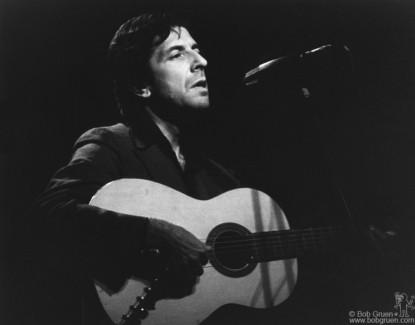 Leonard Cohen, NYC - 1974