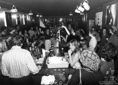 Max's Kansas City Bar, NYC - 1976